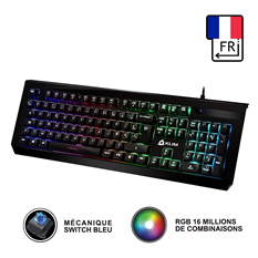 Couverture Claviers Gaming